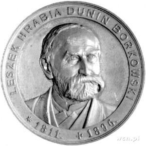 medal pamiątkowy Leszka Dunin Borkowskiego- pisarza, żo...