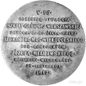 medal autorstwa Cz. Makowskiego wybity w 1912 r. z okaz...