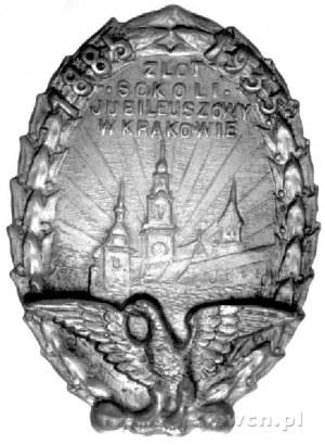 odznaka Zlotu Sokolego Jubileuszowego w Krakowie w 1935...
