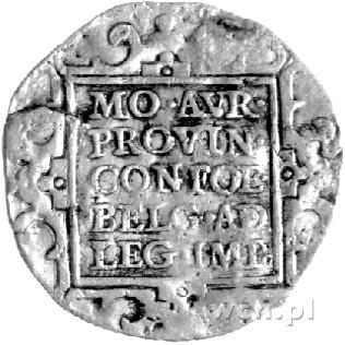 dwudukat 1649, Zelandia, Delm. 881, Fr. 306, złoto, 6,5...