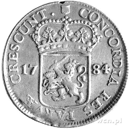 dukaton 1784, Utrecht, Delm. 982