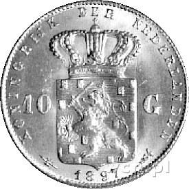 10 guldenów 1897, Delm. 1232, Fr. 347, złoto, 6,72 g.
