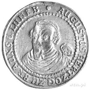 August 1635-1666 - talar 1653, Aw: Popiersie, Rw: Wielo...