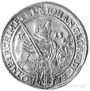talar 1615, Aw: Półpostać, Rw: Popiersie, Dav. 7573, Sc...
