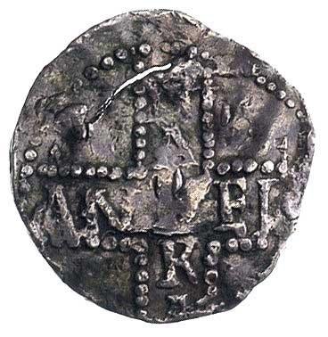 ks. Dietrich 984-1027 r., denar, Aw: Głowa i napis, Rw:...