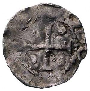 cesarz Otto III 983-1002, denar, Aw: Krzyż i napis, Rw:...