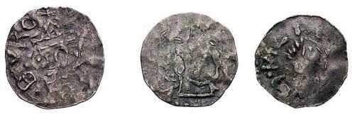 cesarz i król Otto III 983-1002, biskup Bruno, denary, ...