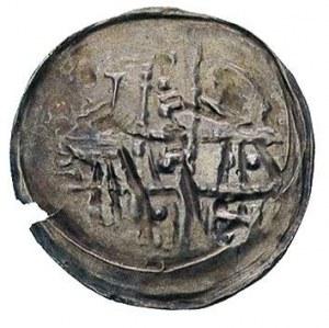 denar, 1185/1190-1201, Wrocław, Aw: Krzyż dwunitkowy, w...