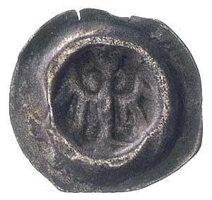 księstwo opolskie, brakteat XV w.; Orzeł, Fbg 483, 0.18...