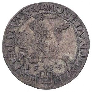 grosz 1535, Wilno, bardzo ciekawa odmiana z literą S po...