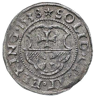 szeląg 1538, Elbląg