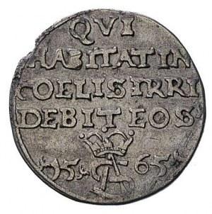 trojak 1565, Wilno lub Tykocin, Ivanauskas 647:95, T. 1...