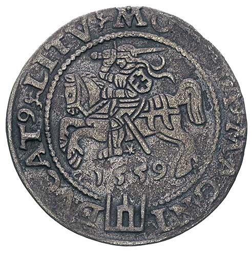 grosz na stopę litewską 1559, Wilno, Ivanauskas 597:87,...