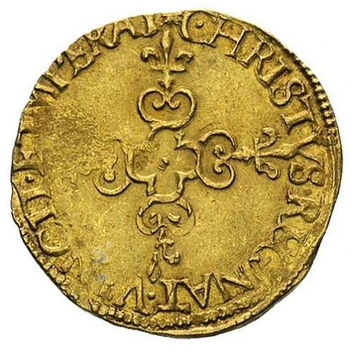 ecu d'or 1578, Nantes, Duplessy 1121, Fr. 386, złoto, 3...