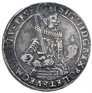 talar 1631, Toruń, na awersie koniec napisu RVS PRVS, H...