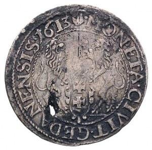 ort 1613, Gdańsk, kropka za łapą niedźwiedzia, T. 1,50,...