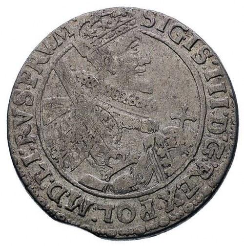 ort 1621, Bydgoszcz, na awersie koniec napisu PRV M, po...