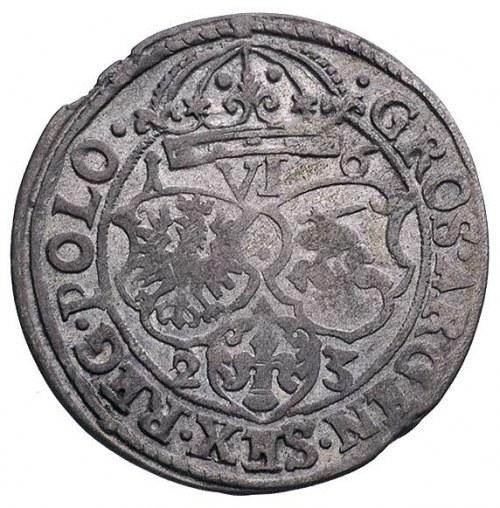 szóstak 1623, Kraków, odmiana z datą 1-6/2-3, T. 5, rza...