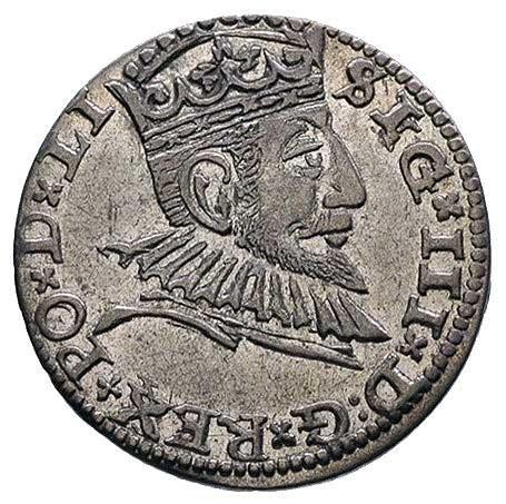 trojak 1591, Ryga, Kruggel 4