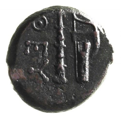 BOSPOR, Teodozja, AE-18, ok. 240-220 pne, Aw: Głowa Ate...