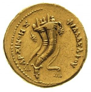 EGIPT, Ptolemeusz II Filadelfos 285-246 pne, oktodrachm...