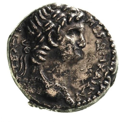 Neron 54-68, Aleksandria, tetradrachma bilonowa, Aw: Po...