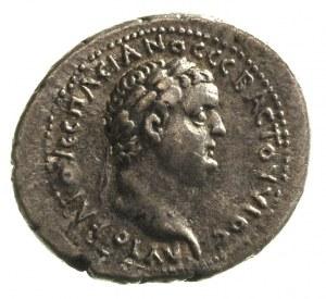 Wespazjan 69-79, Cezarea, didrachma, Aw: Popiersie Wesp...
