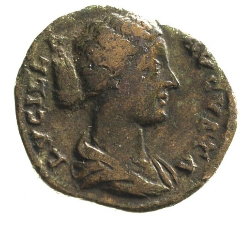 Lucilla- córka Marka Aureliusza, as, Aw: Popiersie cesa...