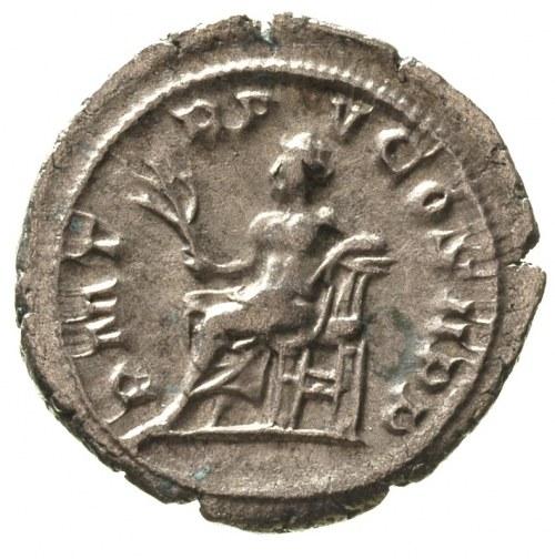 Gordian III 238-244, antoninian, Aw: Popiersie cesarza ...