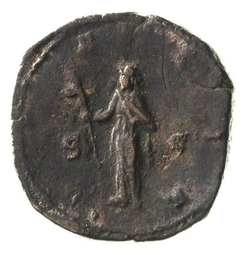 Trajan Decjusz 249-251, sestercja, Aw: Popiersie cesarz...
