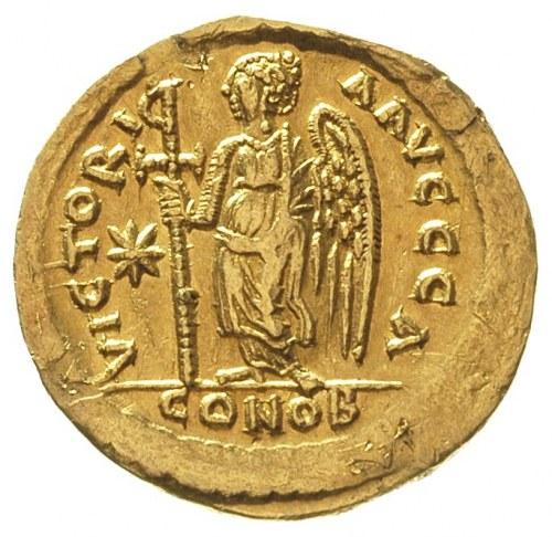 Anastazjusz I 491-518, solidus, ok. 507-518, Konstantyn...