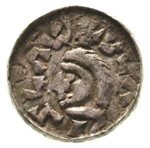 Władysław Herman 1081-1102, denar, Aw: Głowa, w otoku n...