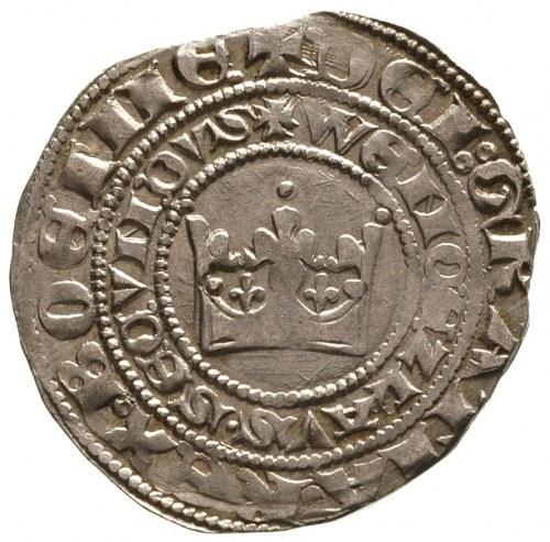 Wacław II- jako król Polski, grosz praski, Kutna Hora, ...