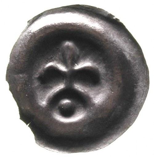 Świętopełk I 1220-1266, brakteat, Gdańsk; Lilia nad łuk...