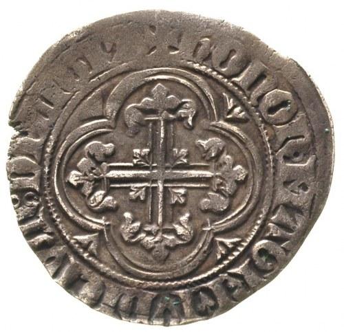 Winrych von Kniprode 1351-1382, półskojec (1 1/3 szylin...