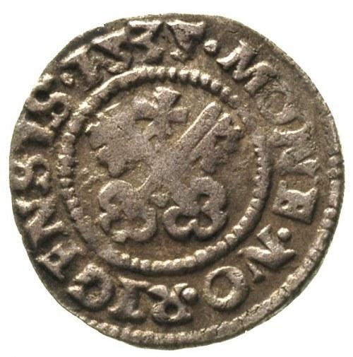 Walter von Plettenberg 1494-1535, szeląg 231, Ryga, Aw:...
