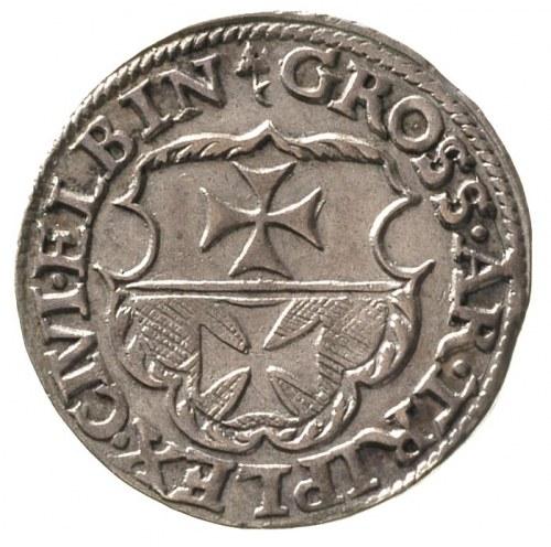 trojak 1539, Elbląg, T. 2, wyśmienity egzemplarz