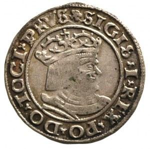 grosz 1530, Toruń, patyna