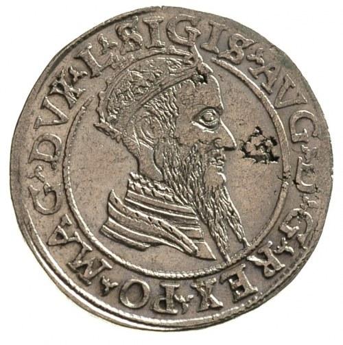 czworak 1568, Wilno, napisy L / LITVA, Ivanauskas 668:9...