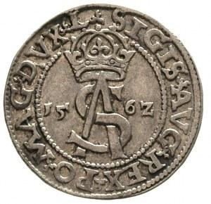 trojak 1562, Wilno, odmiana Pogoń bez tarczy, Ivanauska...