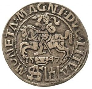 grosz na stopę polską 1547, Wilno, Ivanauskas 559:82, w...