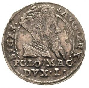 grosz na stopę polską 1567, Tykocin, odmiana z kropką p...