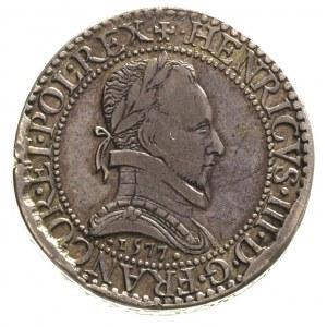 1/2 franka 1577, Paryż, Duplessy 1131, piefort 28.18 g,...