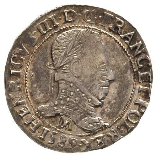 1/2 franka 1589, Toulouse, Duplessy 1131, patyna
