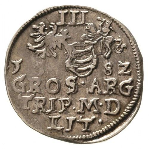 trojak 1582, Wilno, Ivanauskas 774:127
