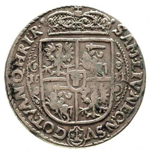 ort 1621, Bydgoszcz, końcówka napisu RVS . PRV . M +