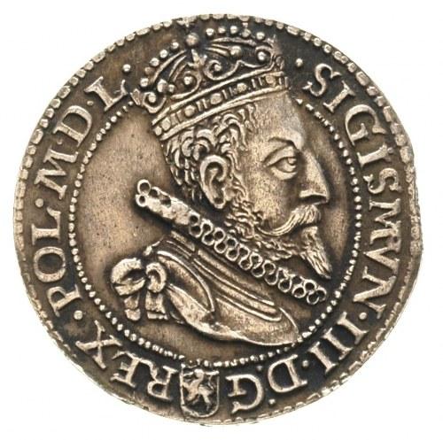 szóstak 1599, Malbork, mała głowa, ciemna patyna