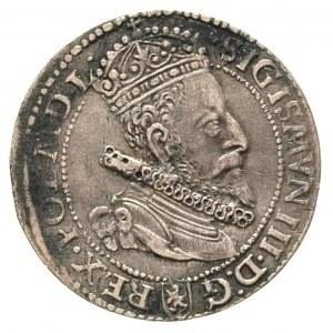 szóstak 1599, Malbork, mała głowa, drobna wada bicia, p...