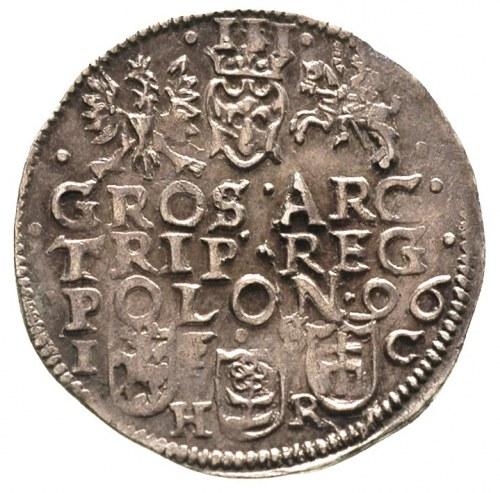 trojak 1596, Bydgoszcz, patyna