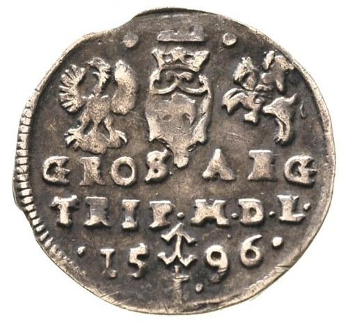 trojak 1596, Wilno, Ivanauskas 1065:210, patyna
